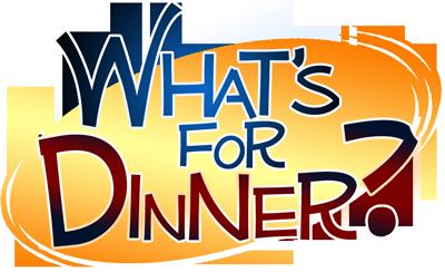 What's For Dinner? Logo