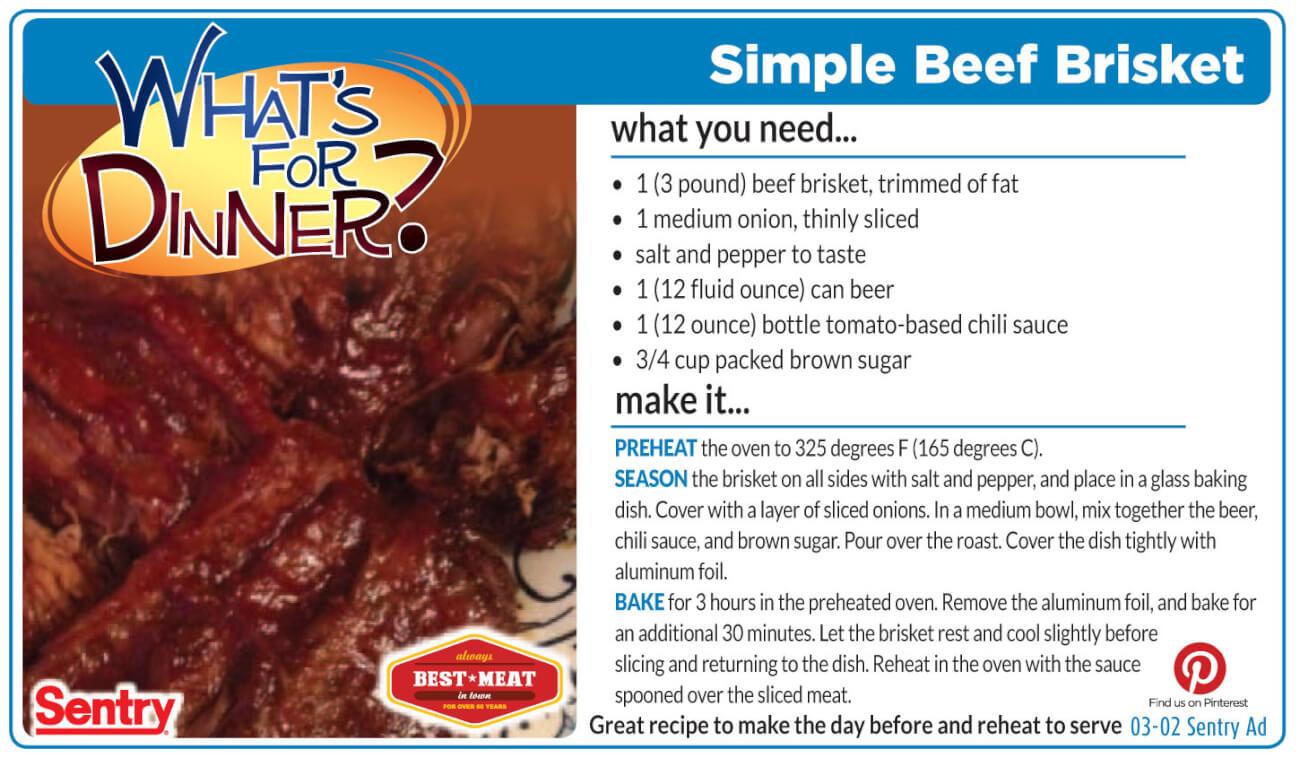 Simple Beef Brisket
