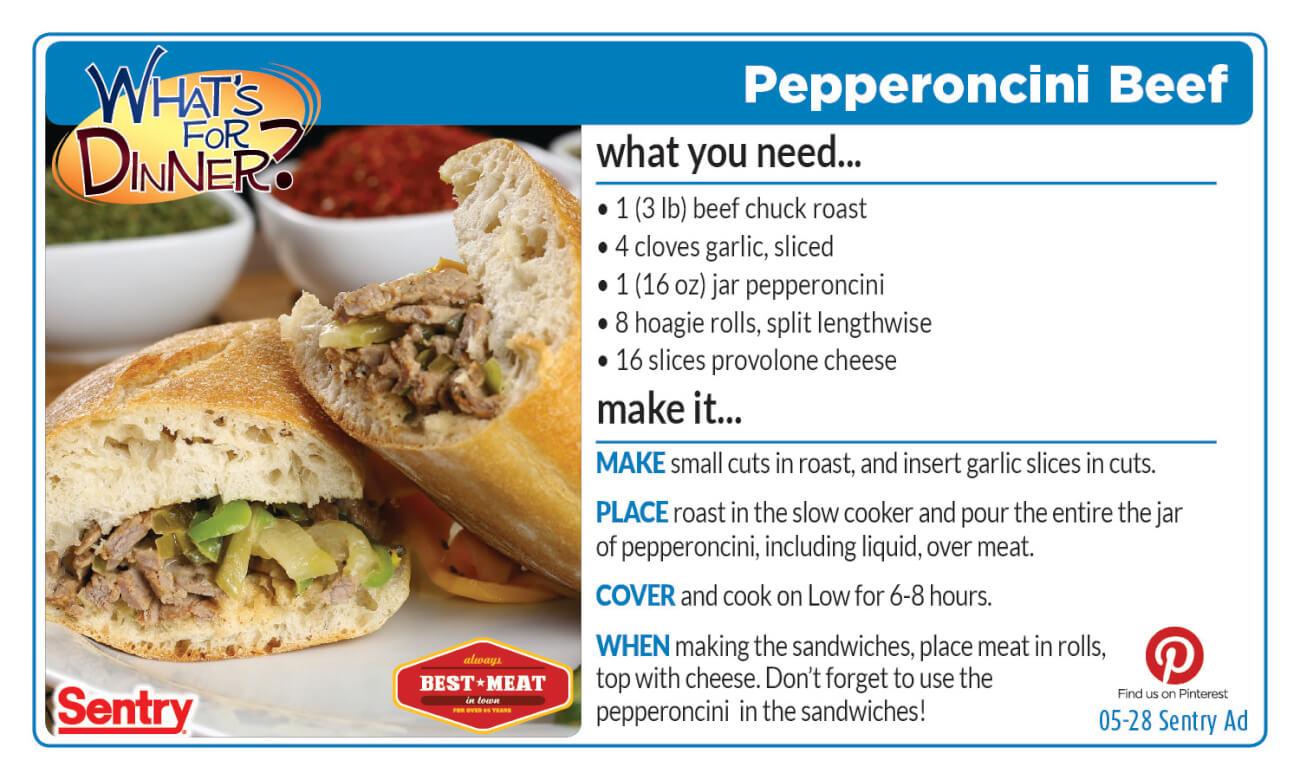 Pepperoncini Beef