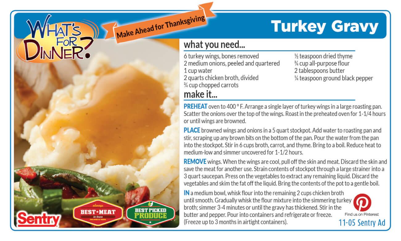 Turkey Gravy
