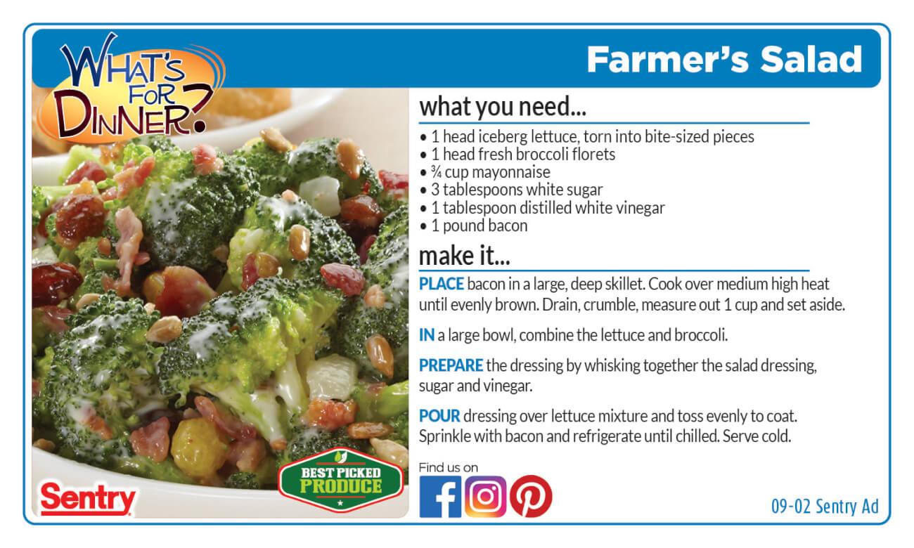 Recipe: Farmer's Salad
